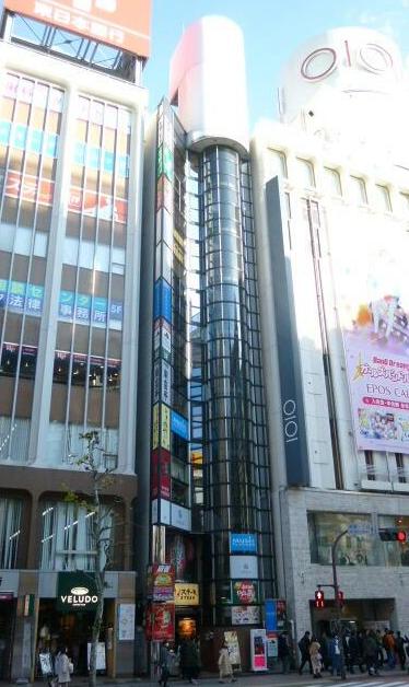 渋谷駅徒歩3分 2F 神南1丁目交差点前!店舗物件(35094)【飲食可】外観