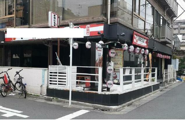 中野新橋駅徒歩1分 1F 駅裏の路面角地店舗物件!(35157)【軽飲食可】外観