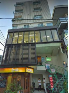 武蔵小山駅徒歩5分 2F 鮫洲大山線沿いの店舗物件(35391)【軽飲食可】外観