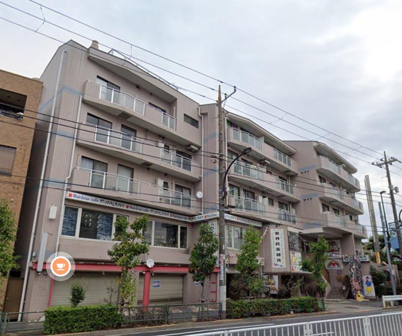 江戸川駅 徒歩6分 スケルトン物件 【飲食可】外観