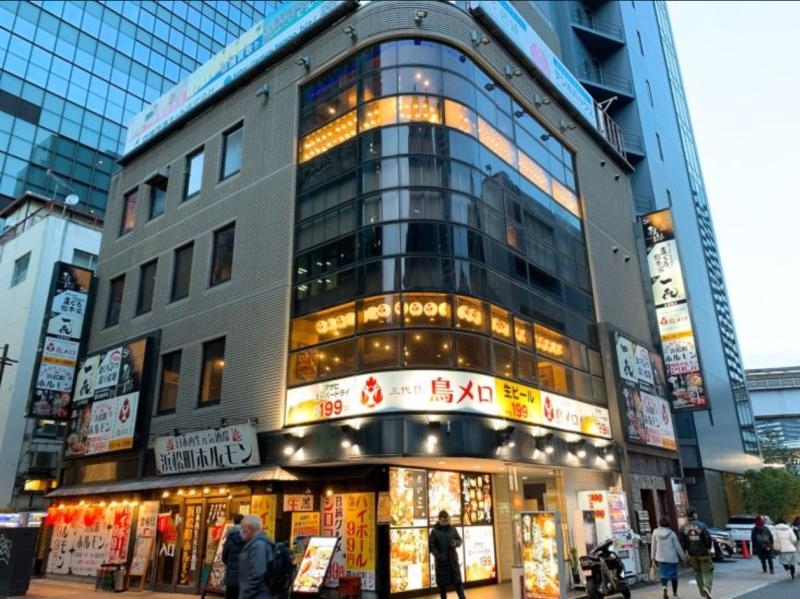 浜松町駅 徒歩2分 現況:居酒屋 飲食居抜き物件 【何業も可】外観