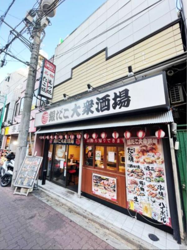 成増駅 徒歩2分 現況:居酒屋 飲食居抜き物件 【何業も可】外観