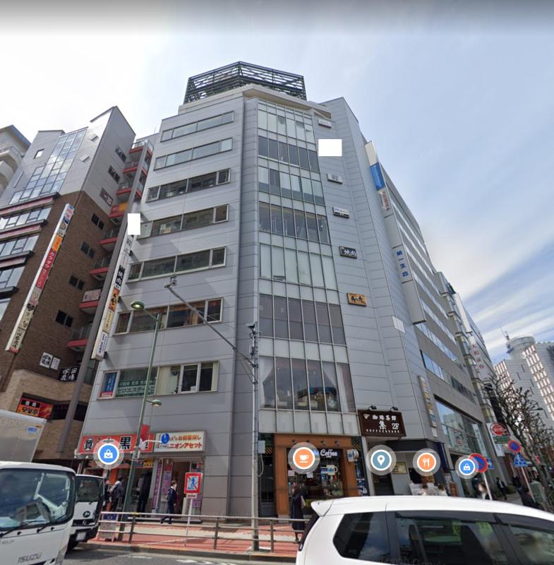 五反田駅 徒歩1分 スケルトン物件 【業種相談】外観