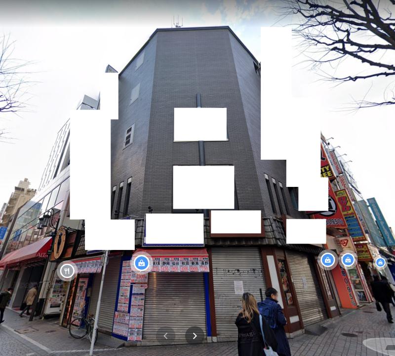 新宿駅 徒歩2分 現況:そば・うどん・麺類 飲食居抜き物件 【飲食不可】外観