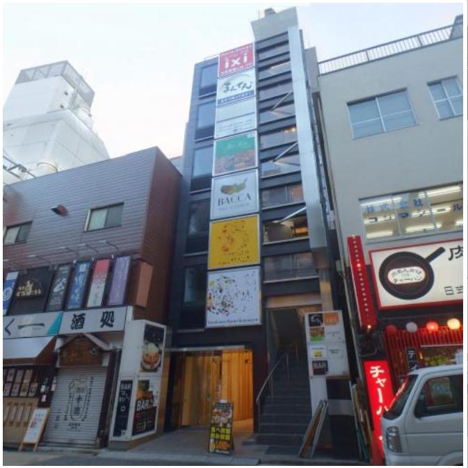 新宿駅 徒歩4分 スケルトン物件 【何業も可】外観