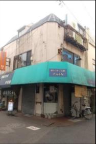 千住大橋駅 徒歩1分 スケルトン物件 【飲食可】外観
