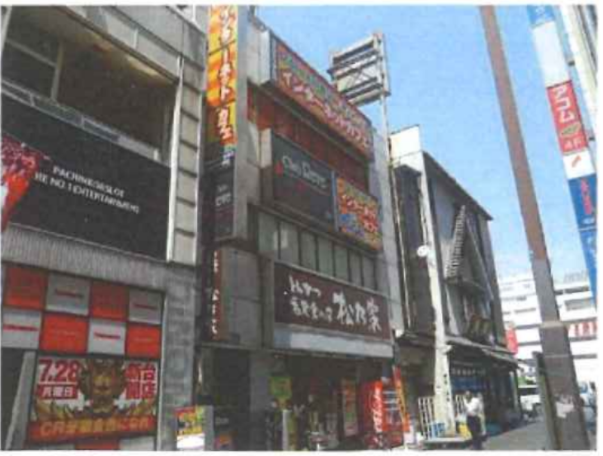 錦糸町駅 徒歩2分 スケルトン物件 【業種相談】外観