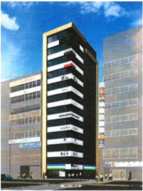 新宿駅 徒歩4分 スケルトン物件 【業種相談】外観