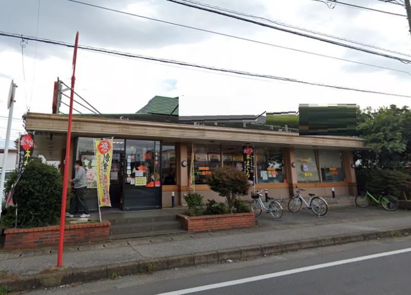 駅近!現況回転寿司の大型路面店舗物件外観